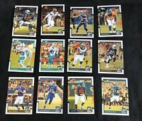 Lot Of 50 NFL Football Cards From 2017 Donruss Optic