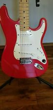 Squier Stratocaster 1993 Torino Red Made in Korea MIK CN