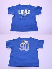 Infant/Baby Detroit Lions Ndamukong Suh 18 Months Jersey T-Shirt Tee (Royal Blue
