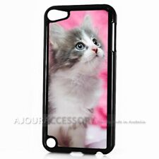 ( For iPod Touch 6 ) Back Case Cover AJ11301 Cute Pussy Cat