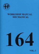 ALFA ROMEO 164 3 Ltr. V6 Mechanical shop manual Very large book paper