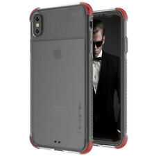 Ghostek COVERT2 Tough Clear Silicone Case Cover for Apple iPhone XS Max - Red