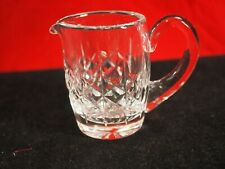 Waterford Miniature Cream Pitcher