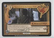 2001 Pergamum Prophecy Base #9 A Quick Jaunt to the Funeral Home Gaming Card 0b4