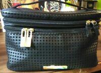 Tartan + Twine Double Zip Train Case Black