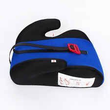 Car Booster Seat Safety Chair Cushion Pad for Toddler Children Child Kids Sturdy Blue