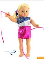 """Doll Cloths 18"""" Sequin Gym Outfit for American Girl"""