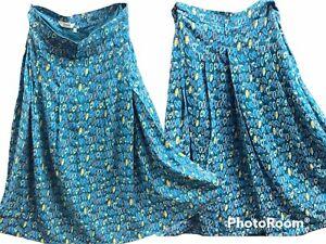 🌺Seasalt Skirt UK Size 14 Hantergantick Design Boathouse 🌺