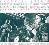 Gillespie, Hubbard, Terry - Trumpet Summit Meets Oscar Peterson Big 4 (CD)  NEW
