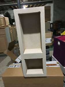 """New Niche- Ready to Tile Recessed Shower Shelf """" Double  Brand New"""