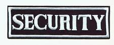 SECURITY Aufnäher Patch Sicherheit Wachdienst Objektschutz Ordner