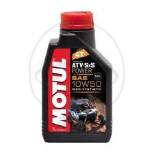 HUILE DE MOTEUR MOTUL 10W50 4T 1L SYNTHÉTIQUE ATV SXS POWER 714.02.83