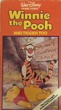 Winnie the Pooh And Tigger Too-Pooh's Thoughfull Spot(VHS)#064-TESTED-VERY RARE