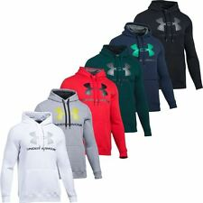 UNDER ARMOUR 2018 COLDGEAR RIVAL FITTED GRAPHIC HOODY MENS SPORTS HOODIE