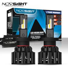 NOVSIGHT H4 LED Headlight Bulb Conversion Kit 100W 20000LM 6000K Hi/Lo Beam Lamp