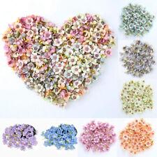 50pcs Artificial Fake Flower Silk Mini Daisy Heads Bulk Wedding Party Home Decor