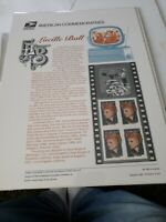 (A-8) US 632 34c Lucille Ball Scott #3523 USPS Commemorative Stamp Panel. Sealed