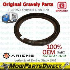OEM Original Gravely Ariens Genuine HEX DECK Belt 07200026 FAST SHIPPING