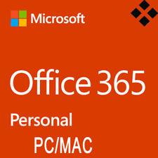 Microsoft Office 365 Personal 1 PC/ 1 MAC 1 Jahr - MS Office 2016 - Nur für EU