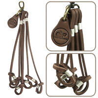 Leather Game Bird Carrier, 6 Pigeon Neck Harness, Hanger Straps For Driven Birds