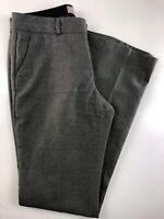 "Banana Republic Martin Fit Flat Front Gray Lined Pants Size 6 30x33""."