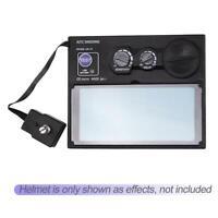 Solar Automatischer LCD Schweißmaske Schweißschirm Schweißhelm für Schweißgerät