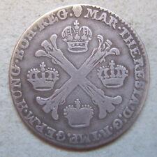 Pays-Bas autrichiens 1/2 kronenthaler argent 1764 Brussels silver coin Belgium