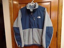 North Face Denali Womens Misses Fleece Jacket SZ M Teal Logo Coat Designer HTF
