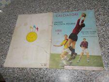 ALBUM CALCIATORI PANINI 1962-63 1963 COMPLETO(-59 FIG.-SCUDETTI)ORIGINALE BUONO