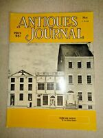 Antiques Journal 1956 Duncan Phyfe Wentworth Clocks Tortoiseshell Buttons Caddy
