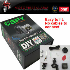 SPY Motorcycle Motorbike bike TPMS Tire Tyre Pressure Monitor System Wireless