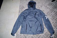 Men's Reebok Rain Jacket Heather Grey Zip up Hoodie Size Large MSRP $150