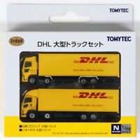 Tomytec 287872 The Truck Collection DHL Large Truck Set 1/150 N scale
