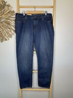"NEW Target Mens Size 38 /2XL Jeans Slim Fit Denim Blue Cotton 32"" Length NWT"