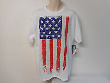 American Flag t-shirt Men's XL Graphic Tee