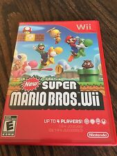 New Super Mario Bros Wii Nintendo Wii Nice Shape All Insets Manual Mint Disk NG6