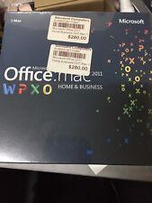 Microsoft Office 2011 Home Business DVD Mac 1 user