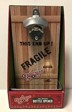 A Christmas Story Wall Mounted Bottle Opener Fragile Leg Lamp New In Box Cap