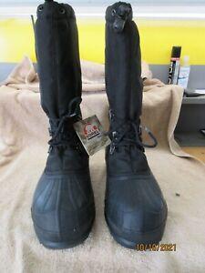 Sorel Mens Glacier NM Boots Size 12 NIB