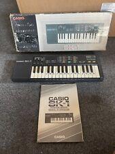 Vintage 1980's Casio SK-1 Sampling Keyboard Synthesizer 32-Key SK1 w/ Box Manual