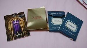 4 vintage perfume Samples Alien~Krystle~Estee
