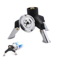 NEW Three-Leg Butane Nozzle Bottle Screw gate Transfer Gas Stove Adapter