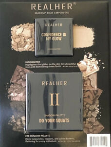 RealHer Duo Set Confidence In My Glow Highlighter + Do Your Squats Bundle
