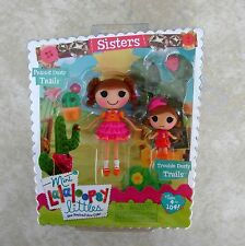 Prarie Dusty Trails Trouble Dusty Sisters Mini Lalaloopsy Doll New 2 Pack Set