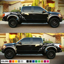 Decal Sticker Side Bed Splash Body Kit for Ford Raptor SVT F150 Bumper Lamp Hood