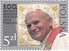 Poland / Polen 2020 - Fi 5094** 100th anniversary of birth of St. John Paul II