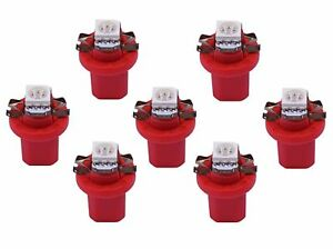 rote HELLE SMD LED Tacho Lampe Beleuchtung Audi 80 90 100 A6 Coupe UMBAU SET rot