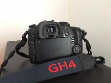 Panasonic LUMIX DMC-GH4 16.0MP Digital Camera - Black (With Lens)