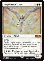 RESPLENDENT ANGEL M19 Core Set 2019 MTG White Creature — Angel Mythic Rare