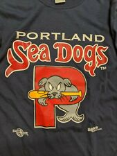 Men's Portland Sea Dogs Minor League Baseball T Shirt. Small. EUC